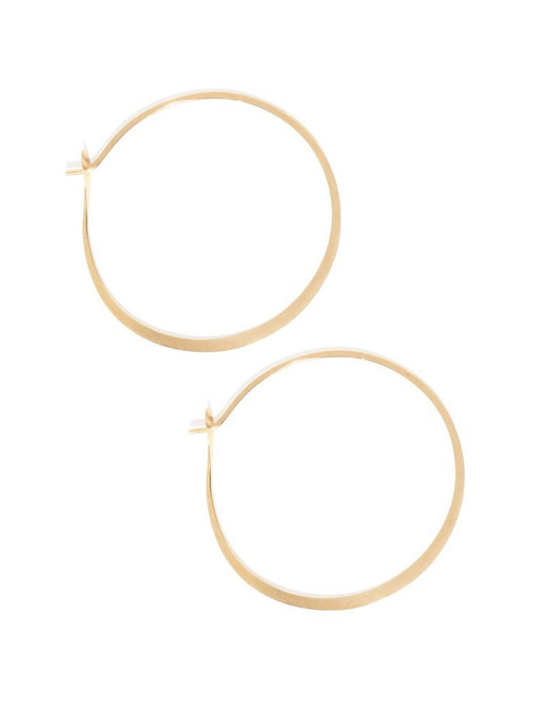 Large - 1.75 Inch Round Hoops