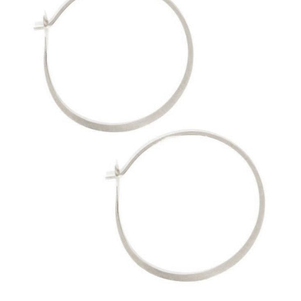 Large - 1.5 Inch Round Hoops