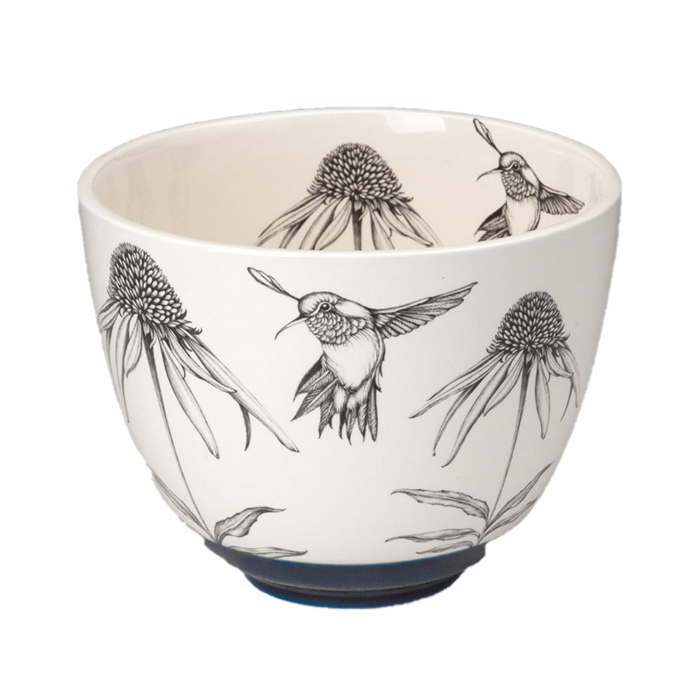 Medium Bowl-Hummingbird