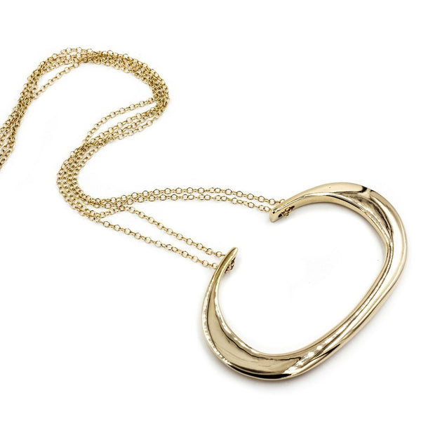 Thea ll Necklace Bronze