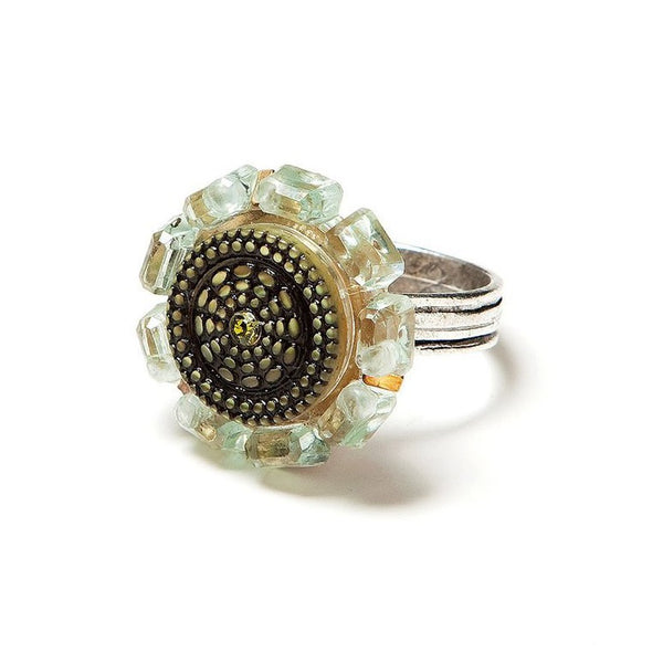 Antique Ocean Ring