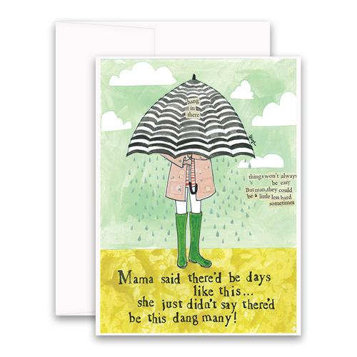 Curly Girl Cards - Encouragement