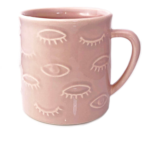 Pink Eyes for You Mug