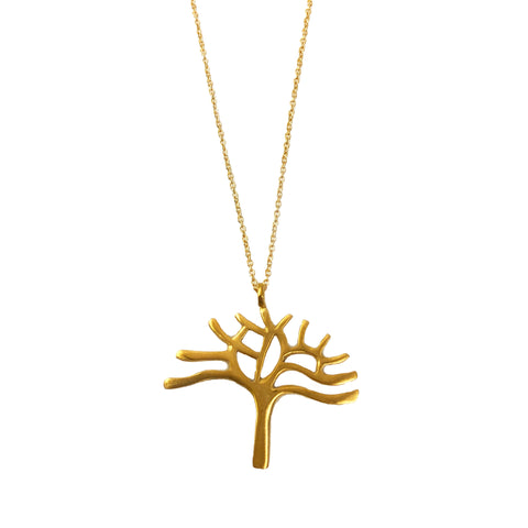 Oakland Tree Necklace - Vermeil