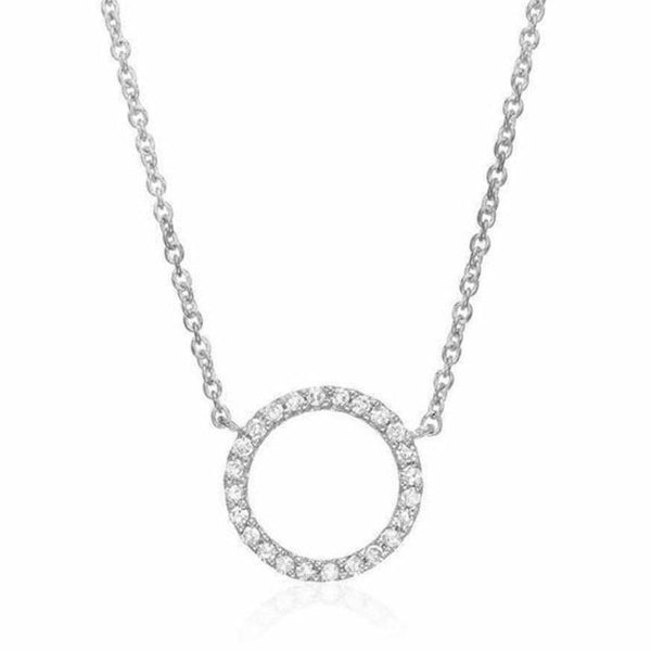 Medium Open Circle Necklace