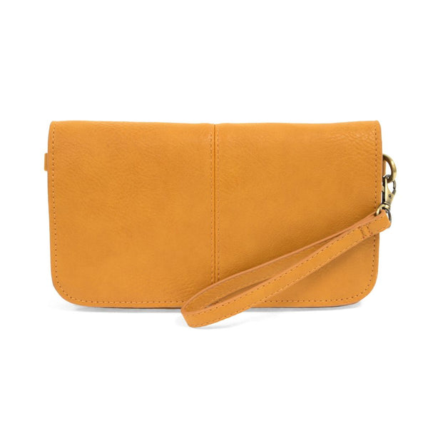 Mia Multi Pocket Crossbody Clutch