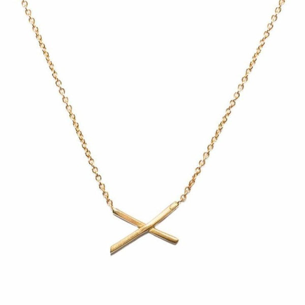 Mini X Necklace