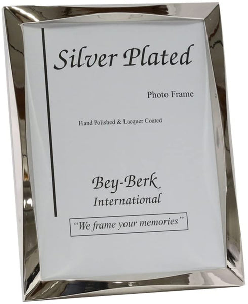 Silvertone Photo Frames in Assorted Sizes