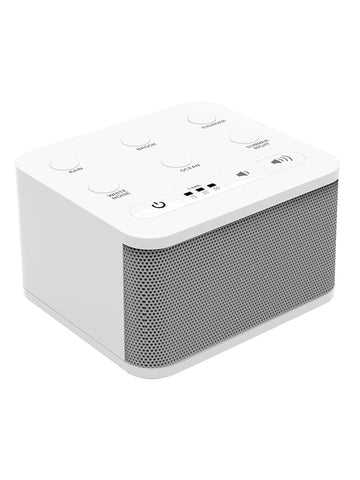 Big Red Rooster White Noise Machine | Sound Machine For Sleeping And Relaxation | 6 Sounds | Plug In Or Battery Powered | Portable Sleep Sound Therapy for Home, Office or Travel