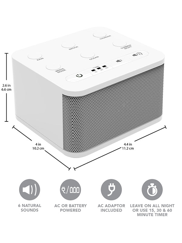 30 Sound 30 Relaxing /& Soothing Nature Sounds Baby /& Travel White Noise Sound Machine for Sleeping,Famirosa Portable Sleep Therapy for Home Office