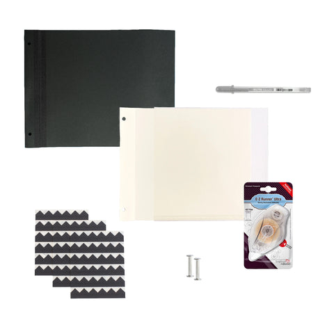 SAVE 10% Bundle - Newport Large - Black Pages