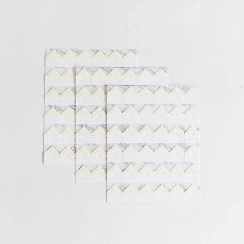 PHOTO CORNERS - 108 SELF-ADHESIVE PAPER CORNERS