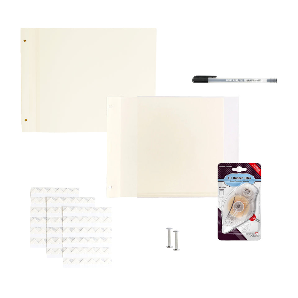 SAVE 10% Bundle - Newport Large - White Pages