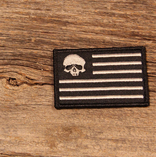 Black Flag Patch - RED BLOODED AMERICAN