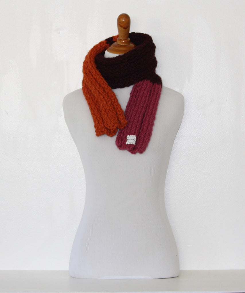 Ribbed 20 Girly Scarf
