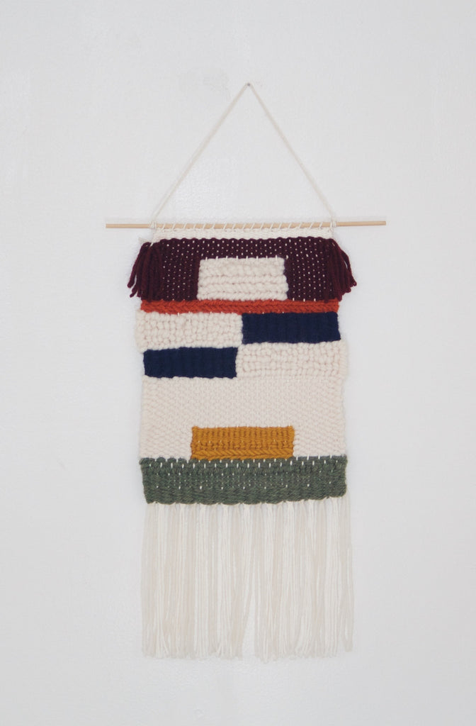 Color Block Wall Hanging