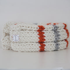 Ribbed 20 BB-8 Inspired Scarf