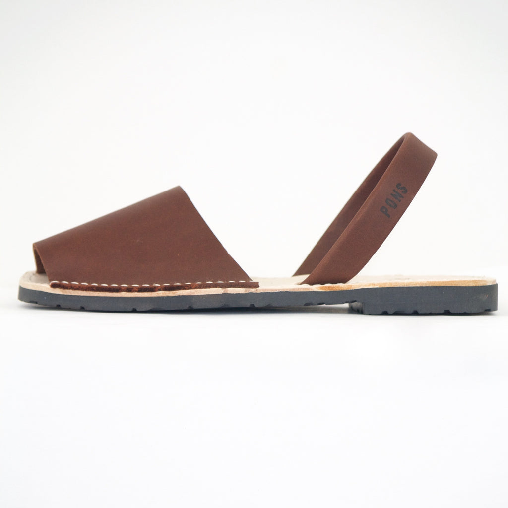 Chocolate Brown Menorca Sandal