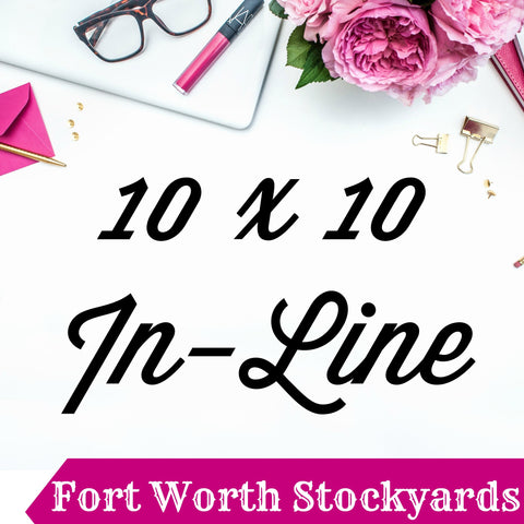 10 x 10 In-Line Booth Pin It Expo 2017 Fort Worth Stockyards