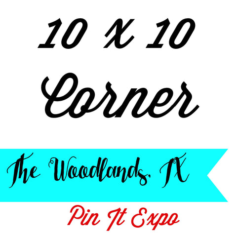 10 x 10 Prime Corner Booth Pin It Expo 2017 The Woodlands