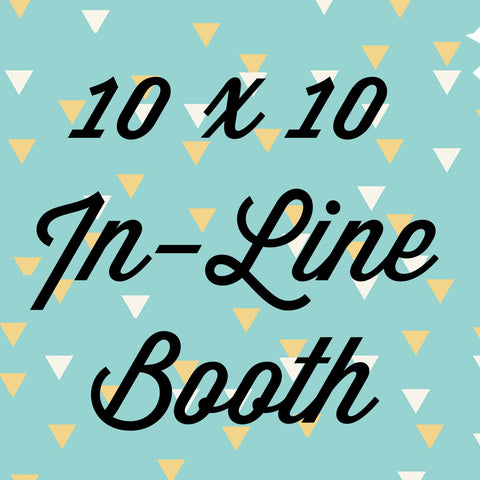 Split Payment Camille 10x10 In-Line Booth Pin It Expo 2016 The Woodlands