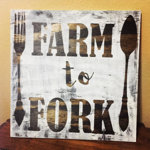 5 - Sunday at 1:00pm - Painted Wood Signs