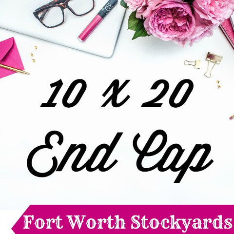 10 x 20 Prime End Cap Booth Pin It Expo 2017 Fort Worth Stockyards
