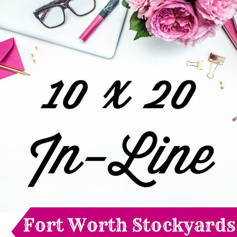 10 x 20 In-Line Booth Pin It Expo 2017 Fort Worth Stockyards