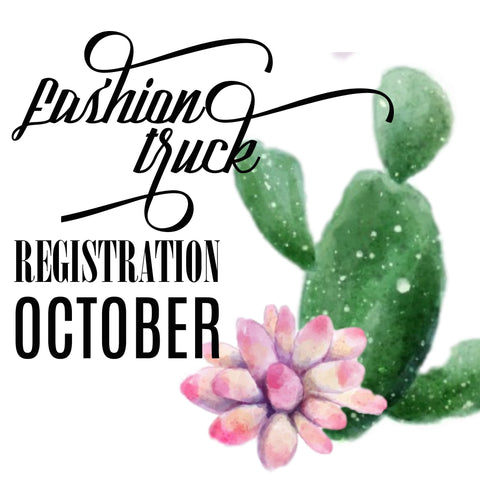 Fashion Truck Registration | Saturday October 14, 2017 | Track Trade Day at The Track Shack