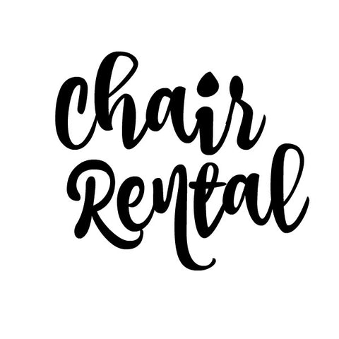 Chair Rental - Add On Service - BIG TOP VINTAGE - STAFFORD, TEXAS - JULY 28, 2018