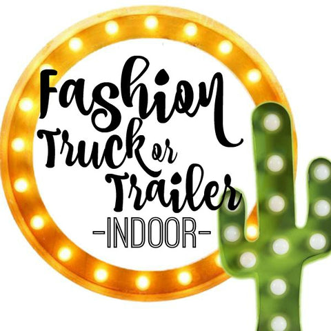Booth Registration Fashion Truck/Trailer - BIG TOP VINTAGE - STAFFORD, TEXAS - JULY 28, 2018