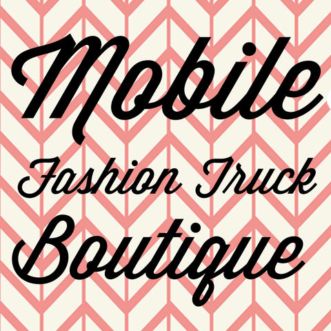 Mobile Fashion Truck Outdoor Booth Pin It Expo 2016 Fort Worth