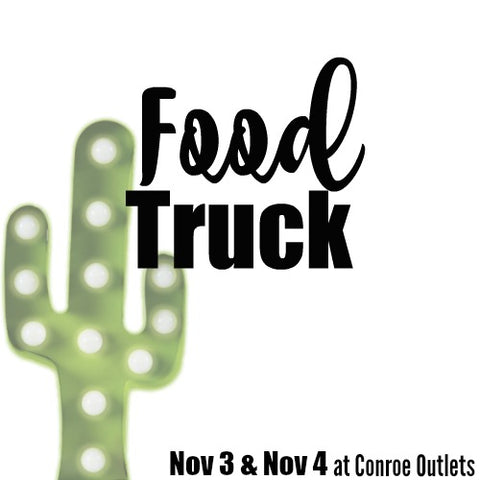 Conroe, TX | Food Truck/Trailer | November 3 & 4, 2018