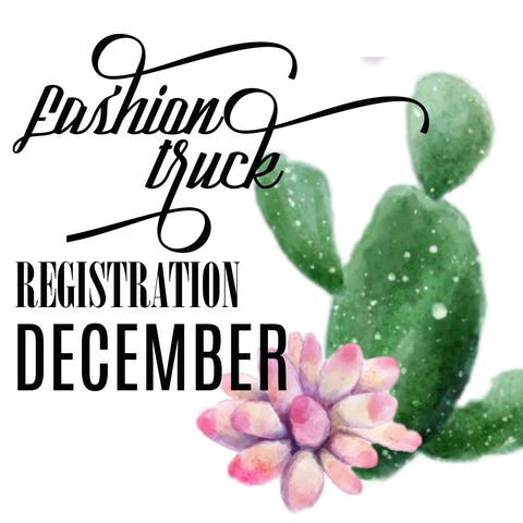 Fashion Truck Registration | Saturday December 16, 2017 | Track Trade Day at The Track Shack