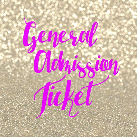 C General Admission Ticket | Pin It Expo The Woodlands 2017