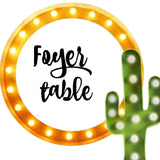 Booth Registration Foyer Table - BIG TOP VINTAGE - STAFFORD, TEXAS - JULY 28, 2018