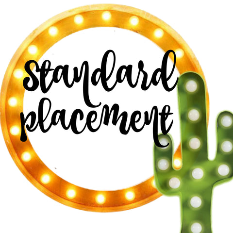 Booth Registration Standard Placement - BIG TOP VINTAGE - STAFFORD, TEXAS - JULY 28, 2018