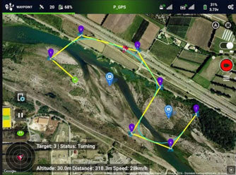 WAYPOINT MAPPING FOR SEARCH AND RESCUE WITH DRONES