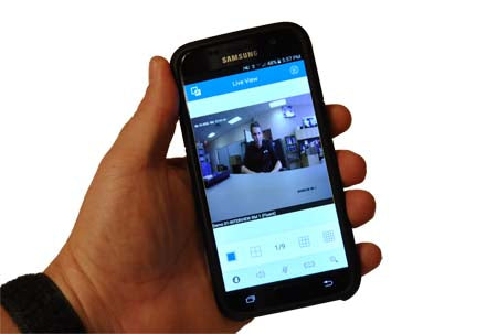 INTERVIEW ROOM SMARTPHONE APP