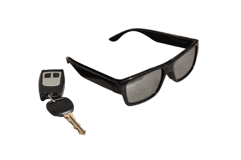 COVERT EYE GLASSES CAMERA WITH WIRELESS TRIGGER