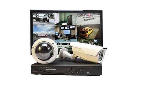 HD Video Security System Pro 720 - 16 Cameras
