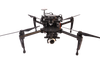 police drone with ir flir thermal camera