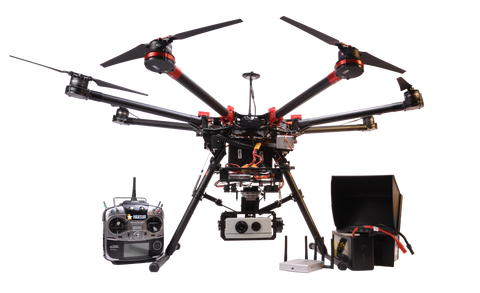 SEEKER ZX12 DRONE WITH 10X OPTICAL ZOOM AND FLIR CAMERA