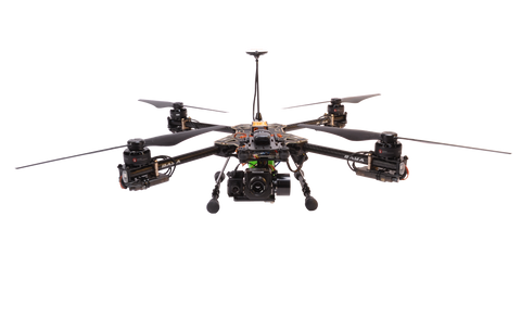 POLICE DRONE WITH THERMAL