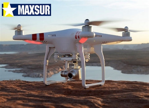 Phantom 2 Vision Plus Drone with Dual Batteries