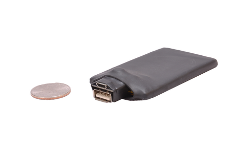 USB BATTERY FOR COVERT BODY WORN