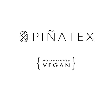 VEGAN Pendant ▪ Piñatex Pineapple Leaf Fibres ▪ Gold - Marlín Birna Ltd.