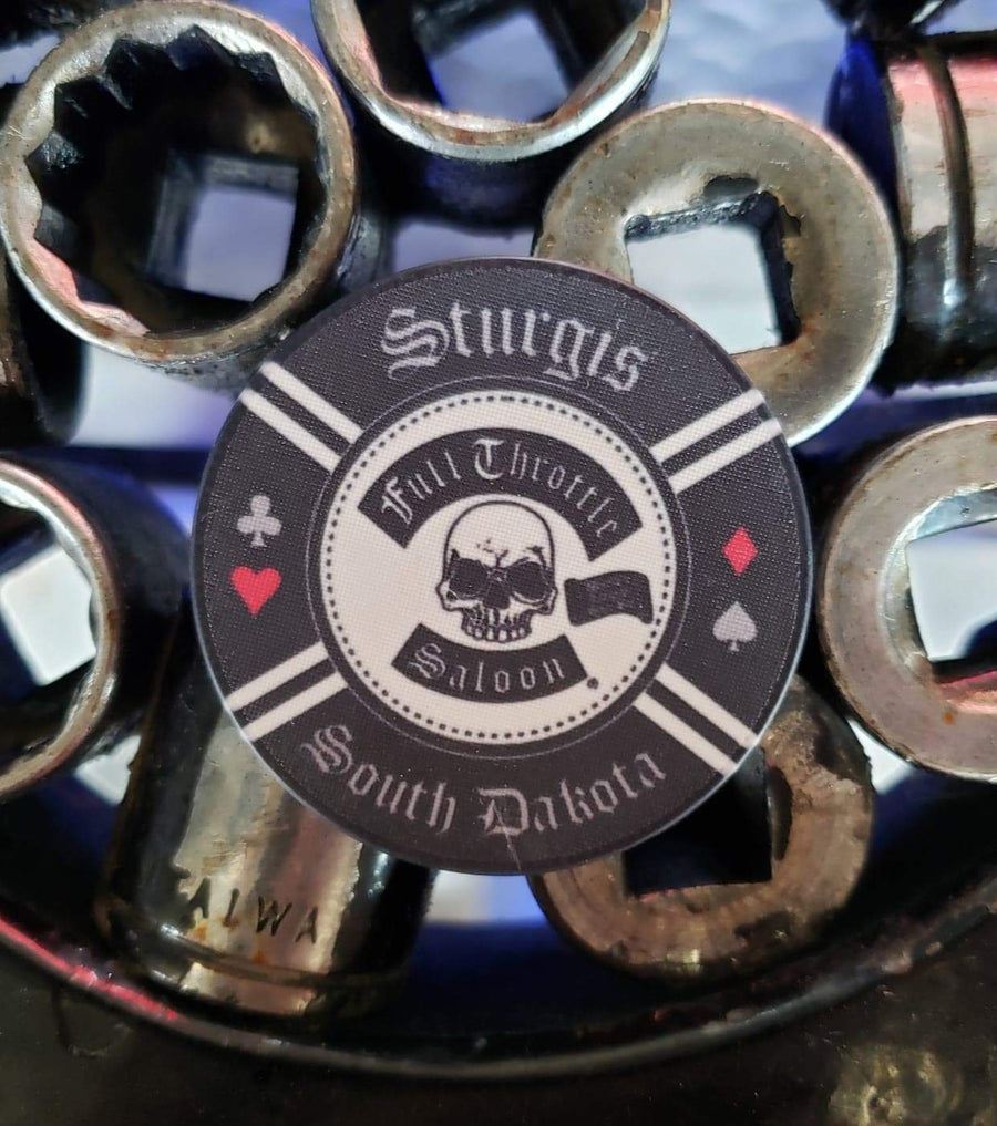 Full Throttle Poker Chip