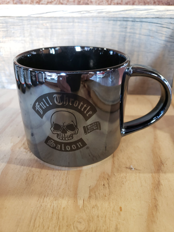 FTS Metallic Graphite Black Coffee Cup