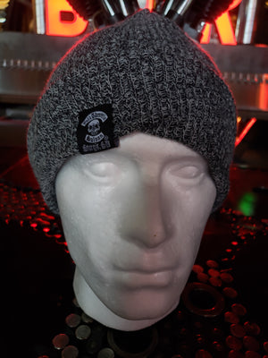 Beanie - FTS gray knit cap